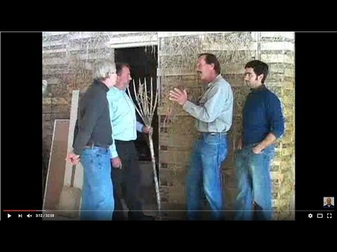 Inspecting a Straw Bale Home