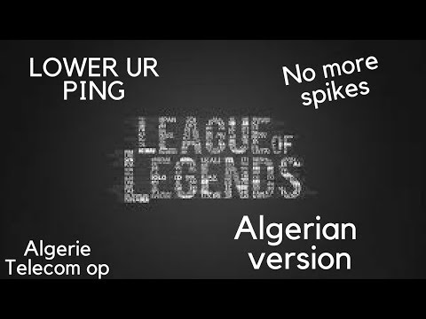 High Ping issue / ping spikes fix  the only legit video ( algerian version)