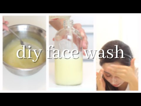 DIY Face Wash for Acne Prone Skin