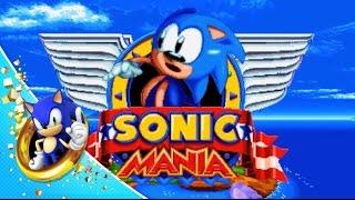 Sonic Mania - Title Card Generator    I think? - PakVim net