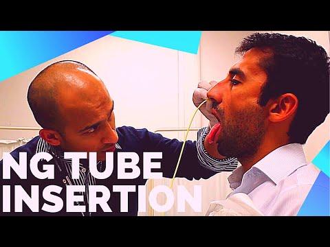Nasogastric (NG) Tube Insertion OSCE Exam Demonstration