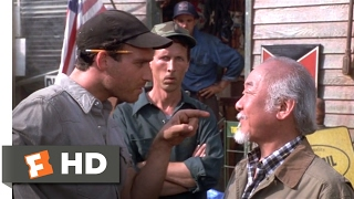 The Next Karate Kid (1994) - Gas Station Fight Scene (2/10)   Movieclips