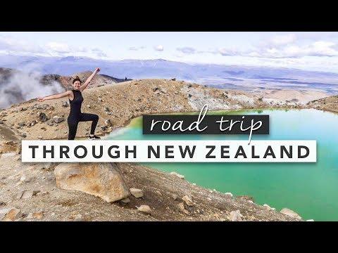 Road Trip Through New Zealand Travel Diary   by Erin Elizabeth