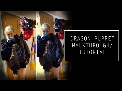 Dragon puppet walkthrough/tutorial