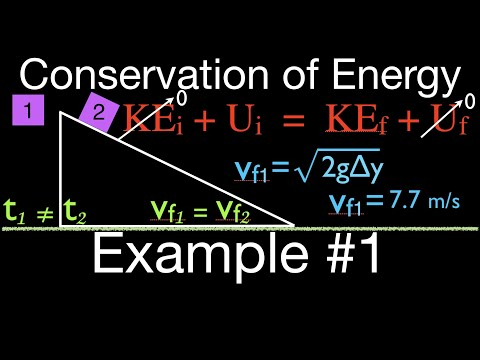 Physics, Conservation of Mechanical Energy and Final Velocity