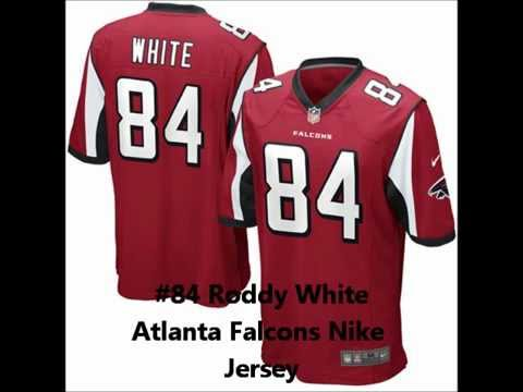 Mens Nike Roddy White  84 Atlanta Falcons Football Replica Game Day Jersey  - Red 64ae0604d