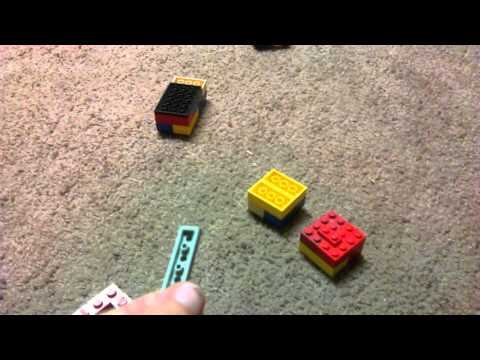 How to make a real looking gun out of legos pt1