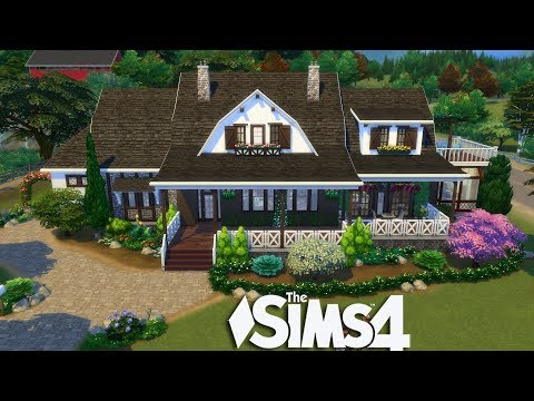 The Sims 4 - Wayland Family Home (House Build)