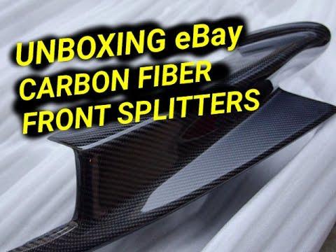 eBay Carbon Fiber M3 Spltters Unboxing