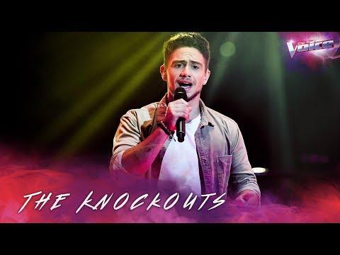The Knockouts: Oskar Proy sings Supermarket Flowers | The Voice Australia 2018