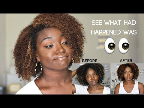 My Curl Pattern Changed | Color and Heat Damage