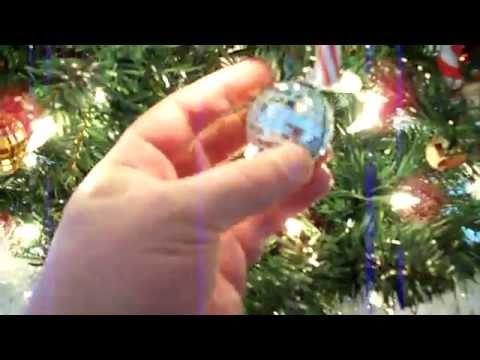 Alcohol Inks: Modify Christmas Tree Ornaments