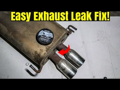 How To Fix A Leaking Muffler Or Exhaust!
