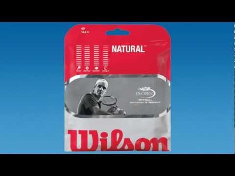 Wilson Tennis Strings - Natural Gut 17g