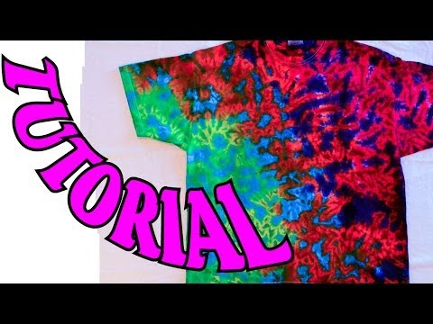 How to Tie Dye a Crinkle or Scrunch Design [Full Tutorial] #11
