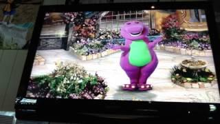Barney's Rhyme Time Rhythm! Main Menu