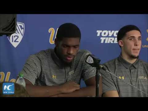 Three UCLA basketball players apologize for shoplifting in China