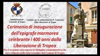 Inaugurata un'epigrafe marmorea celebrante la liberazione della nostra città