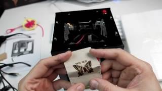 Ζαμπονοχαρακτική με λέιζερ! NEJE DK-8-KZ 1000mW Laser Engraver Printer ['Greek']