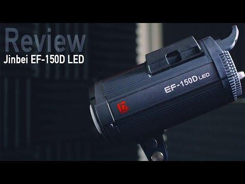 Jinbei EF-150D LED continuous light review