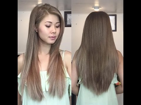 How to cut a layered Bob/Lob at home