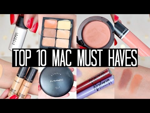 Top 10 MAC Must Haves! | samantha jane