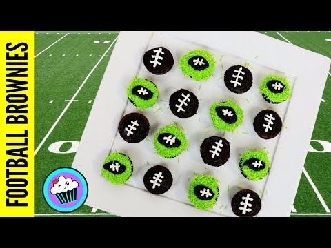 FOOTBALL IS BACK BROWNIE BITES | Pinch of Luck