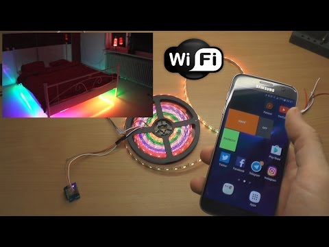 Home automation over WiFi using WeMos ESP8266