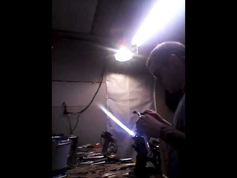 Building a pipe using a tube pull