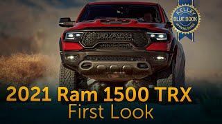 2021 Ram 1500 TRX | First Look