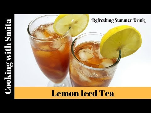Super Easy & Perfect Lemon Iced Tea Recipe in Hindi by Cooking with Smita | Refreshing Summer Drink