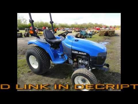 New Holland Tc 25 Tractor Illustrated Master Parts List Pdf Manual