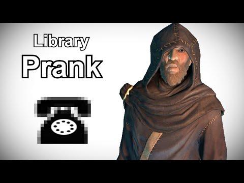 Septimus Searches for an Elder Scroll - Skyrim Prank Call