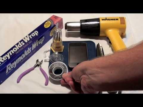 iPhone WiFi Repair: Heat Gun Reflow