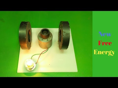 Real free energy generator 100% self runing with magant new exeparmant