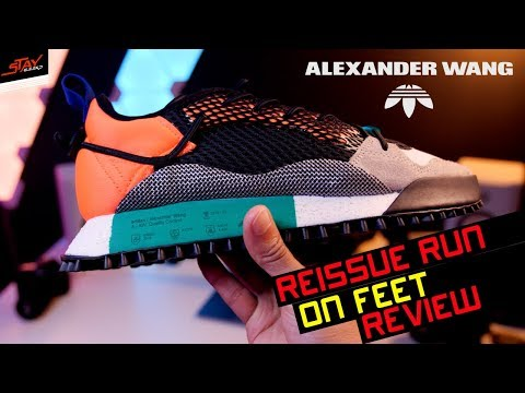 Alexander Wang X ADIDAS AW Reissue Run ON FEET REVIEW!
