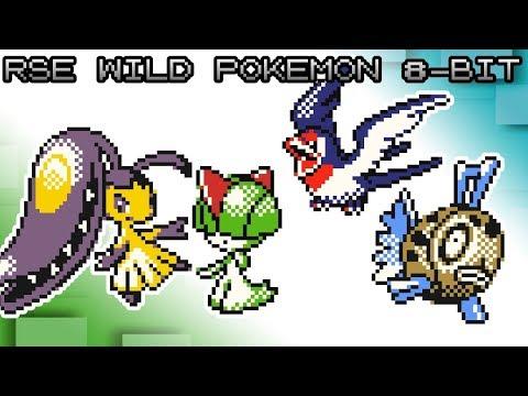 Pokémon Ruby, Sapphire and Emerald - Battle! Wild Pokemon [8bit]