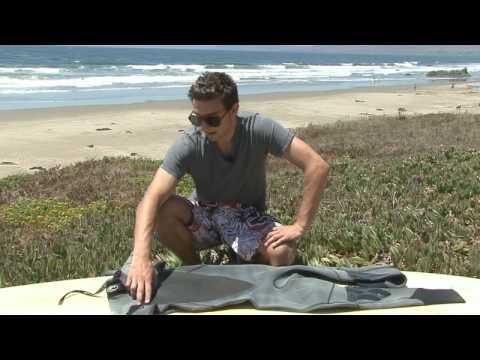Surfboard Riding & Equipment Tips : Repair a Surf Wet Suit