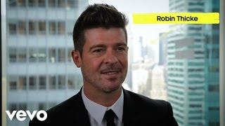 Robin Thicke - Back Together (Vevo Show & Tell)