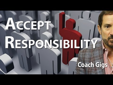 Accept Responsibility - Coach Gig's Daily Locker Room