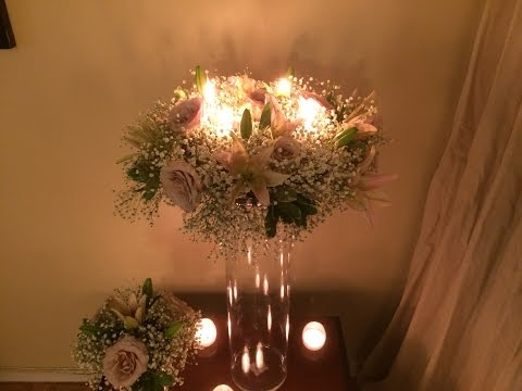 HOW TO MAKE CENTERPIECES FOR WEDDINGS