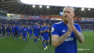 Download Emotional scenes as Cardiff City relegated from Premier League after loss to Crystal Palace Video
