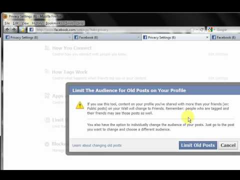 How to Keep Your Facebook Timeline from Being Completely Public