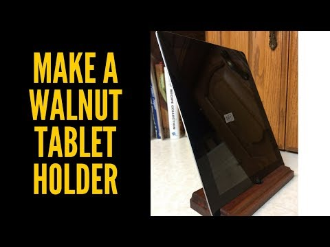 DIY - iPad and Tablet Holder - Woodworking