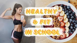 How I Stay Fit and Healthy in College