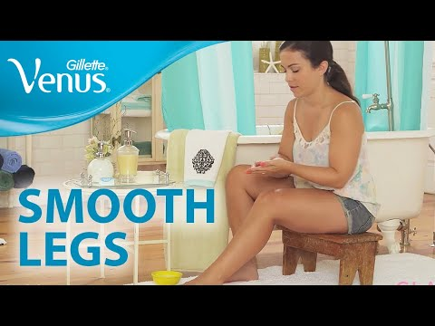 The Secret to Smooth Legs | Smooth Legs 101: Hair Removal with Gillette Venus