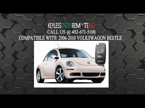 How To Replace A Volkswagon Beetle Key Fob Battery 2002 - 2010