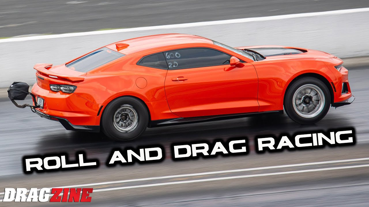 Day 2 of SCT-Indy drag and roll racing my TT ZL1