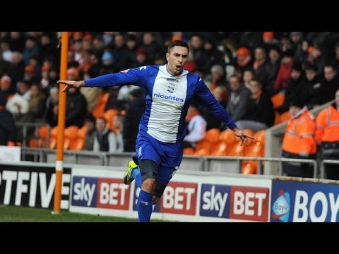 Blackpool 1-2 Birmingham City | Championship 2013/14 Highlights