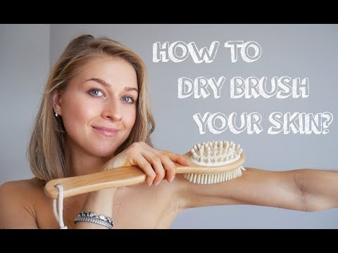A Step-By-Step Guide To Dry Skin Brushing